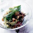 アボガドとえびのバジル風味サラダ