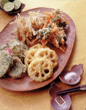 根菜の天ぷら盛り合わせ