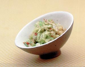 キャベツの梅おかかサラダ