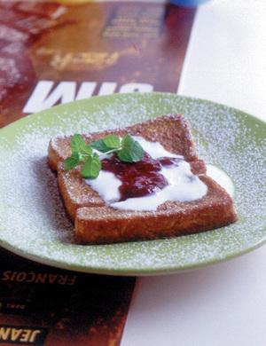カフェオレフレンチトースト