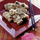 梅しそとのりチーズの天ぷら