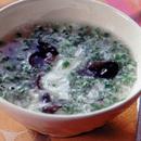 卵白ときくらげのスープ