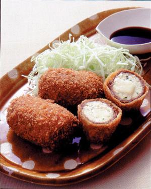 豆腐の肉巻きコロッケ