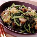 小松菜と卵のあっさり炒め