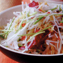 大根とくらげの中国風サラダ