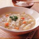 野菜たっぷりチーズスープ