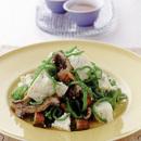 うなぎと豆腐のボリュームサラダ