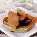 塩鮭のカレー粉まぶし揚げ