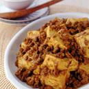 カレー風味の麻婆豆腐