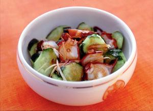 たこときゅうりの韓国風サラダ