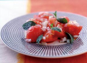 トマトのミントサラダ