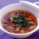 きのこのピリ辛スープ