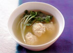 つくねのスープ