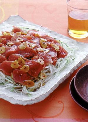 かつおの中華風サラダ