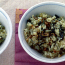 豚肉と高菜の炊き込みご飯