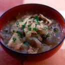 豆腐とこんにゃくの豚汁