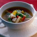 マカロニ入り野菜スープ