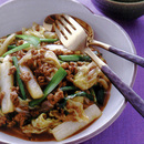 ひき肉と白菜の麻婆風