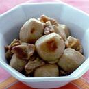 里いもと豚バラ肉の甘辛煮