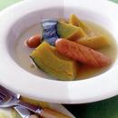 かぼちゃとソーセージのスープ煮
