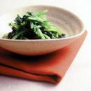 小松菜の辛子あえ