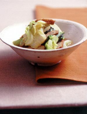 白菜とさつま揚げのあっさり煮