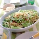春キャベツとアンチョビーのスパゲティ