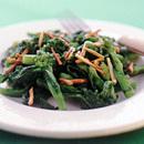 菜の花のガーリックオイル炒め