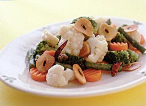 ゆで野菜のエスニックサラダ