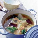 大根と干し貝柱のスープ煮