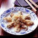 かきの天ぷら 薬味おろしのせ