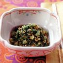 小松菜のナムル風