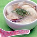 かぶとザーサイの春雨スープ