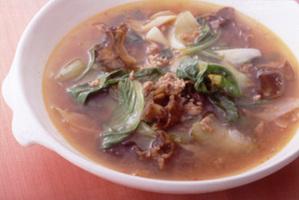 中華風野菜スープ