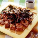 鶏肉のグリル焼き たっぷり生野菜のせ