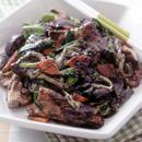 野菜炒め黒ごま風味