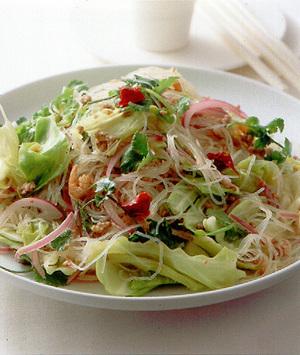 キャベツと春雨のタイ風サラダ