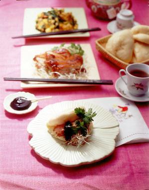 中華風チキンサンド