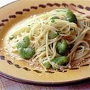 そら豆スパゲティ