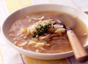 切り干し大根と野菜のスープ