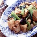豆腐の中華風炒め煮