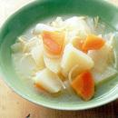 パスタ入り野菜スープ