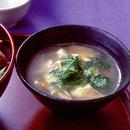 ごぼうと豆腐の炒めスープ