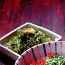 キャベツのガーリックオイルサラダ