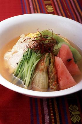 韓国風冷麺
