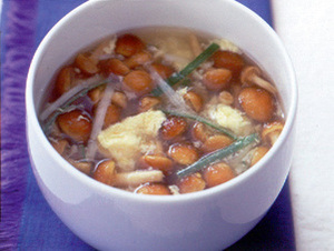 なめこのかきたまスープ