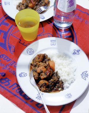 インド風チキンカレー
