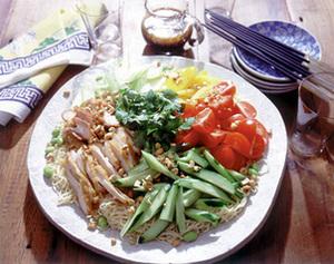 中華風サラダ麺