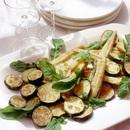 あなごと夏野菜のシンプルフライ
