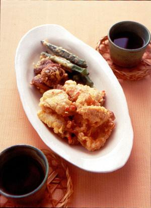 豚肉の紅しょうが天ぷら